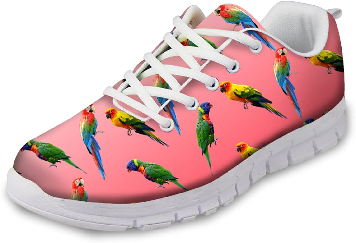 Showudesigns Cool Animal Design Women Running shoes Lace Up Youth Girl Platform Sneaker