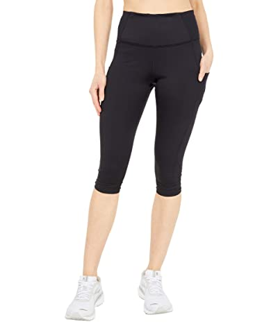 Brooks Method 1/2 Crop Tights (Black) Women