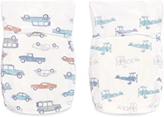 aden + anais Disposable Diapers; Hypoallergenic; Chemical-Free; Sensitive Skin Safe; Super Absorbent Leak Protection; Ultra Soft; Premium Quality; Size 3; liam - cars