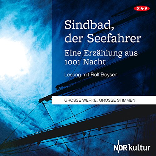Couverture de Sindbad, der Seefahrer. Eine Erzählung aus 1001 Nacht