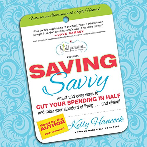 Saving Savvy audiobook cover art