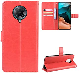 Luckyandery Mi Poco F2 Pro Wallet Case Leather,Mi Poco F2 Pro Flip Case Cute, Stand Case Folio Book Flip Cover Built-in Ca...