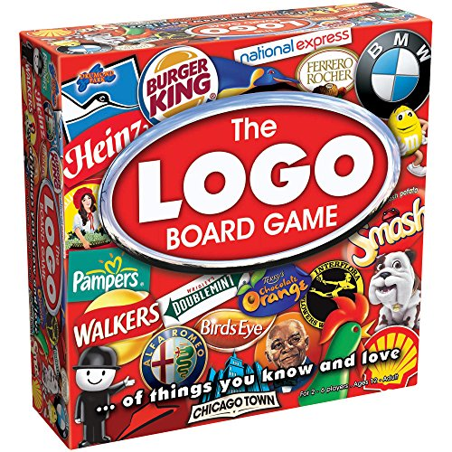 Drumond Park The Logo Board Game of Brands and Products You Know and Love - Version Anglaise