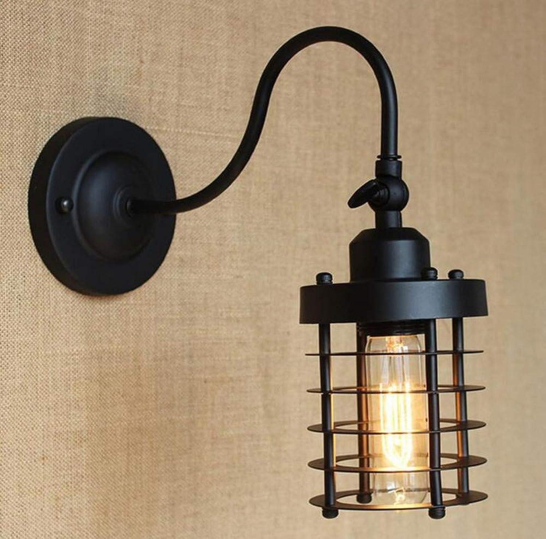 Kronleuchter Deckenleuchte Led-Lichtschlafzimmer-Stummer Schwarzer Kunst-Minimalistischer Balkon-Nachttischlampen-Dekorations-Wand