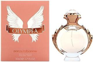 Paco Rabanne Olympea de mujer con vestido plateado Eau De Parfum 50 ml