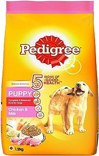 Pedigree Puppy Dry Dog Food, Chicken & Milk, 1.2kg Pack