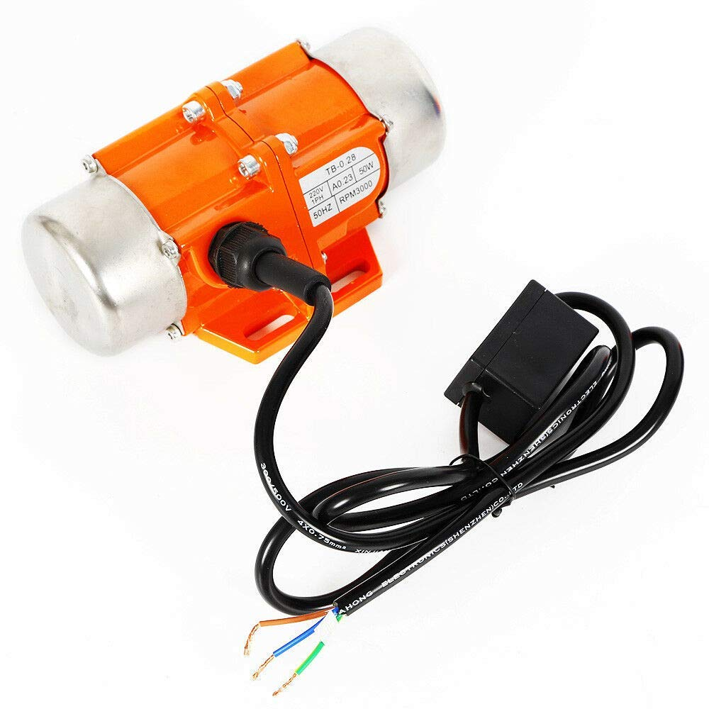 100 W. motore a vibrazione 220 V 3000 giri//min per dispositivi meccanici Vibratore 1//3 di fase