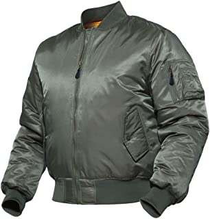 MA1 Army Tactical Pilot Bomber Jacket Men Winter Warm Flight Military Jacket