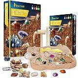 CAPKIT Gemstone Gem Dig Kit, STEM Educational DIY Toys...