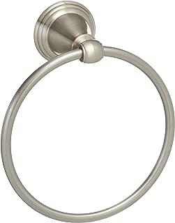 Delta Faucet Bathroom Accessories 79646-BN Windemere Towel Ring, SpotShield Brushed Nickel