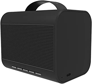 Bluedio T Share 2.0 Bluetooth V5.0 Portable Speaker with Microphone, Supported Voice Control, Perfect Bluetooth Speaker for iPhone, Samsung and More(Black)