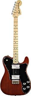 Fender 0137702306 Classic Series '72 Telecaster Deluxe - Guitarra eléctrica para diapasón (madera de arce), color negro