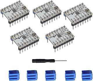 TMC2208 V1.2 3D Printer Stepper Motor Driver Module, YOTINO with Heat Sink Screwdriver for 3D Printer Mother Boards Reprap MKS Prusa