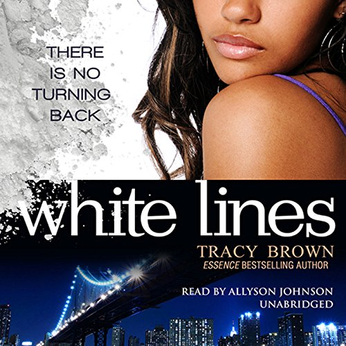 White Lines audiobook cover art