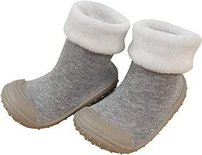 OCEAN-STORE Baby Infant Toddler Girls Boys 3 Months-3T Cartoon Smile Winter Warm Prewalker Socks Shoes