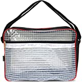 Rodinny poklad エンジニアバッグ ショルダーバッグ 帯電 静電気 防止 クリーンルーム A4 サイズ 透明