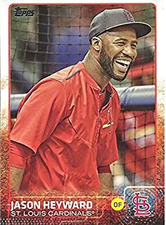 JASON HEYWARD PHOTO VARIATION COLLECTIBLE TRADING - 2015 TOPPS BASEBALL UPDATE SERIES CARD #US135 (VARIATION EXCLUSIVE TO TARGET) ST. LOUIS CARDINALS - FREE SHIPPING