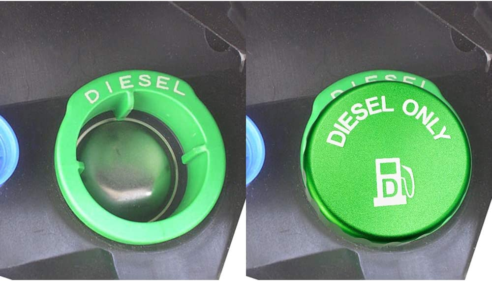 DIESEL Only for 2019 2020 2021 cap. diesel Indefinitely Dodge New Free Shipping green fuel Ram
