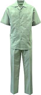 STACY ADAMS Men's Solid Linen Set