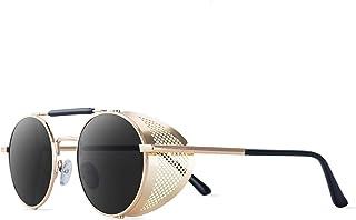 نظارات شمسية دائرية للرجال والنساء نظارات شمسية شخصية ستيم بانك نظارات شمسية الرياح