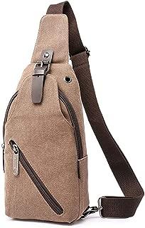 Sling Bag Shoulder Chest Crossbody Bags for Men Women