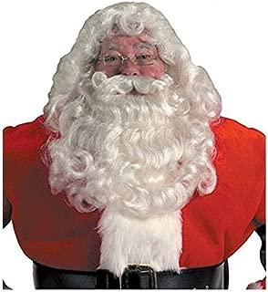 Professional Santa Wig And Beard Set