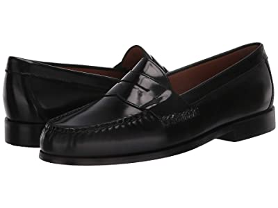 Johnston & Murphy Hayes Penny Loafer (Black) Men