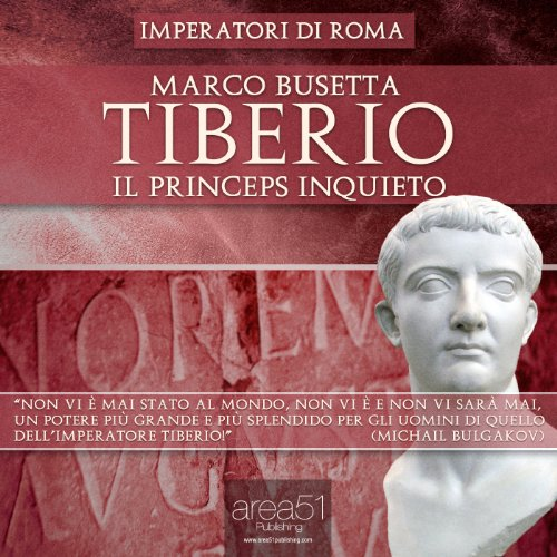 Tiberio. Il princeps inquieto [Tiberius: The Restless Emperor] cover art