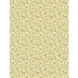 Papel Décopatch No. 790 - Paquete de 20 hojas (395 x 298 mm, ideal para papmachés) hojas doradas