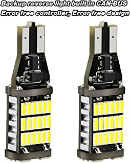 T15 921 Led Bulb-Super Bright 1000Lm 6000K Error Free 912 921 T15 W16W Led