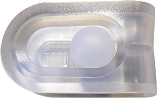 Ridder 506000-350 - Pinza para Sujetar la Cortina de la Ducha a la Pared, Transparente