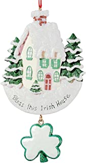 """Best Kurt Adler """"Bless This Irish House"""" Ornament for personalization #W3855 Review"""