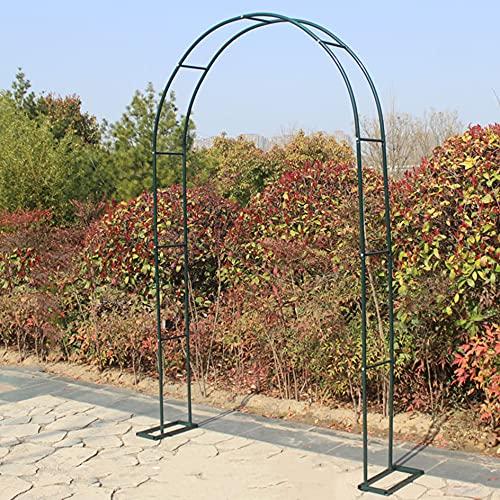 YYHJ Arcos de Jardin,Metal Garden Arch,Arco para Rosales,Archway Enrejado de Acero con Revestimiento en Polvo,para Plantas Soporte Rosas Escalada Jardín Decoración