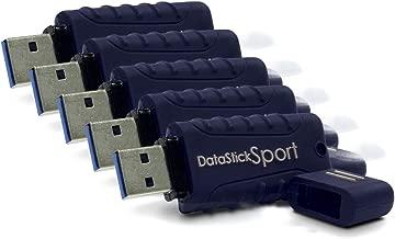 Centon MP Essentials DataStick Sport 8 GB USB 3.0 Flash Drive (S1-U3W2-8G), 5-pack