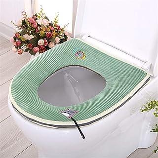 WEIHUIMEI 1PC Fumetto Morbido Bagno scaldino Lavabile coprisedili coprivaso Inverno Caldo Tappetino WC Estraibile
