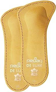 Juego de 4 plantillas ortop/édicas adhesivas con forma de T Pedag para pies con los dedos abiertos