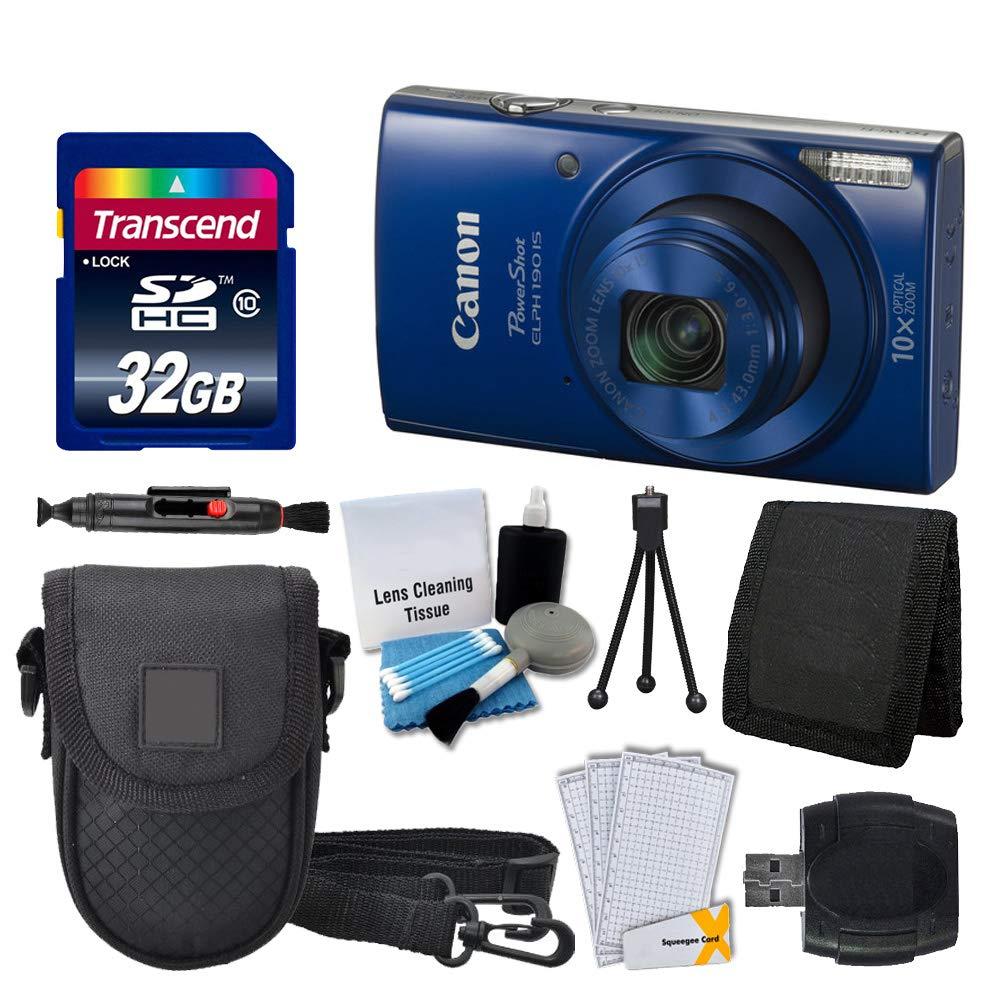 Canon ELPH 190 Blue Protectors