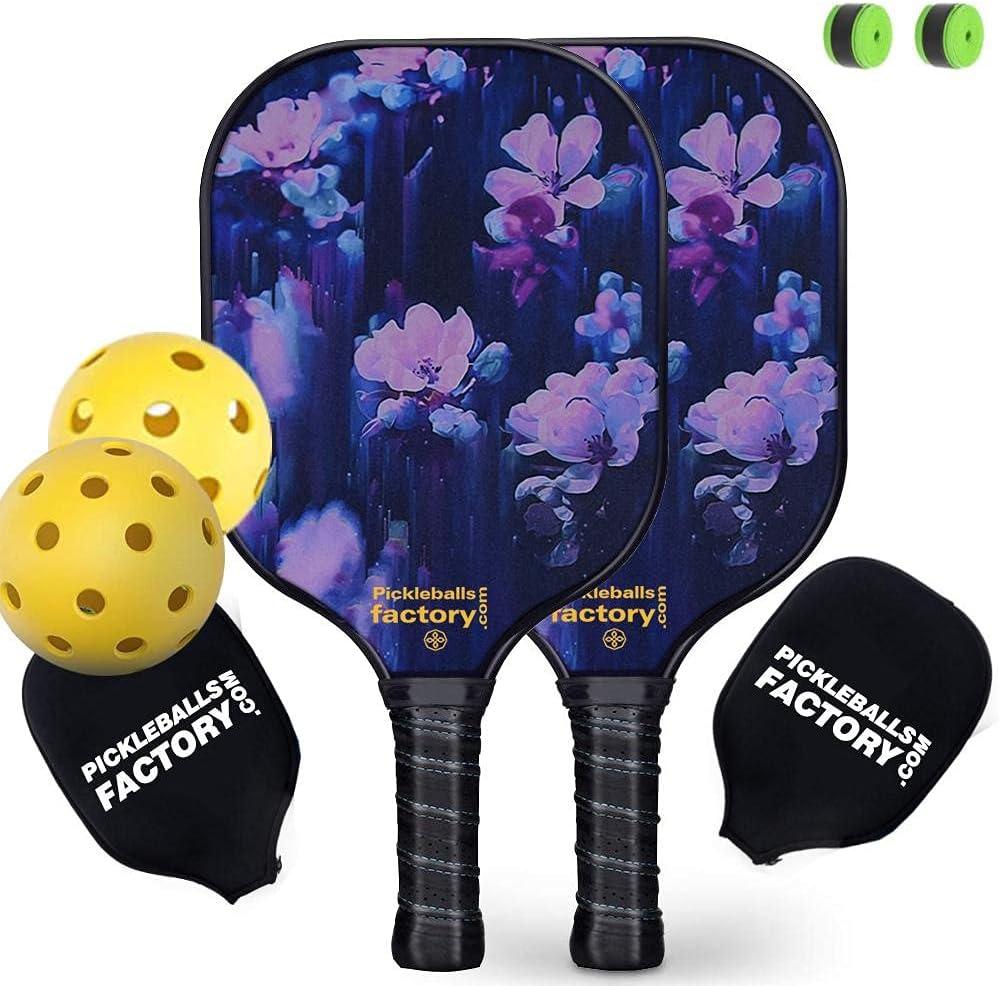 Pickleball Paddles outlet Paddle Set FLLOWER Se 100% quality warranty!