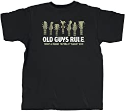 Old Guys Rule Men's Classic Rock Short Sleeve Shirt