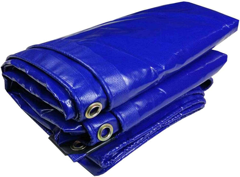 Plane PENGJUN Tarps Blaue Wasserdichte staubdichte Frostschutzmarkisen-Hochleistungsplane 350g     m2, 0.32mm Es ist weit verbreitet B07H3MGXYT  Luxus b8bf3a