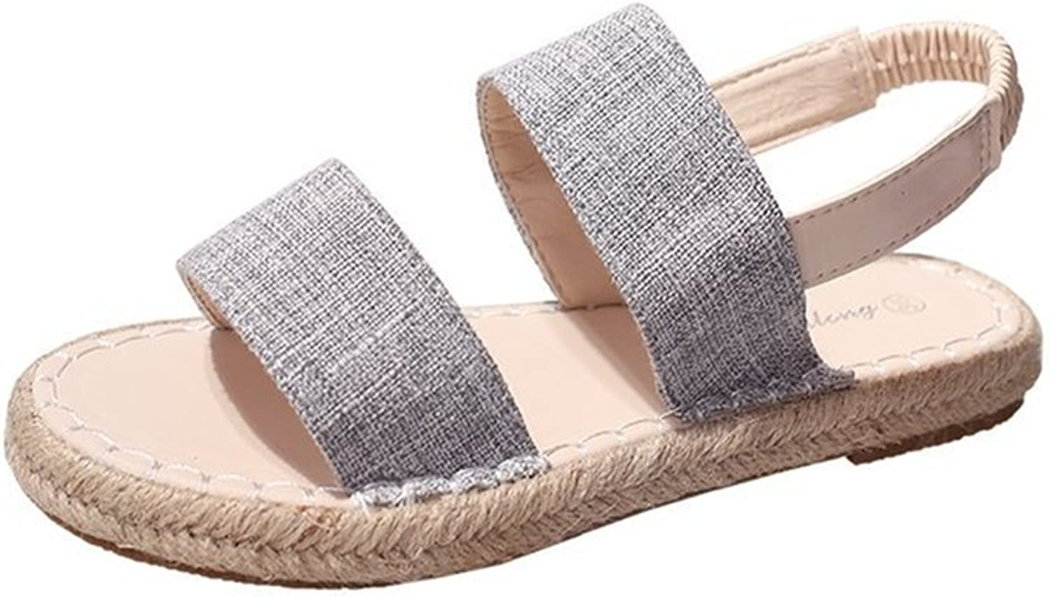 SUNNY Store Sandal, Soft Ankle-Tie, Closed Toe, Espadrilles Flats Made in Spain