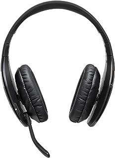 BlueParrott S450 XT Stereo Bluetooth Over Ear Headset – 82 % Noise Cancelling mit VoiceControl – Perfekt für unterwegs und in lärmintensiver Umgebung – Schwarz