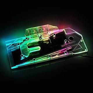 Bykski パソコン RBW LED VGA GPU グラフィックスカード 水冷ヘッド ブロック 互換性 For NVIDIA ASUS MSI EVGA Galax GIGABYTE Zotac Colorful PNY MAXSUN Pa...