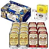 【プレゼントに/オリジナルトランプ付】スーパードライジャパンスペシャル冬限定景品付きダブルセット(JH-12) ビール 350ml×12本 ギフトBox入り