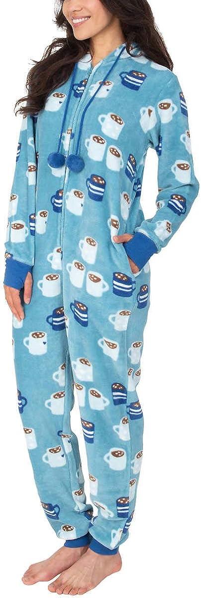 Munki Ladies Hooded Fleece with Onesie Pockets 誕生日 お祝い One-Piece 付与