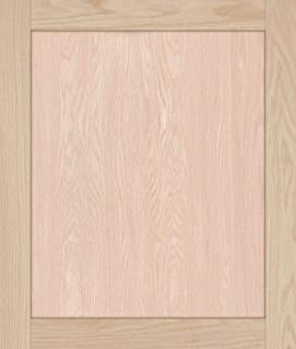 Unfinished Oak Shaker Cabinet Door by Kendor, 26H x 22W