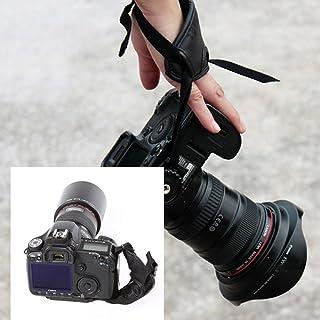 اكسسوارات صور من Andoer PU بحزام معصم لليد لكاميرا Nikon Canon Sony Olympus DSLR