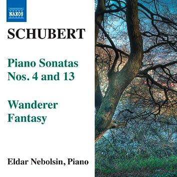 Schubert: Piano Sonatas Nos. 4 & 13 - Wanderer Fantasy