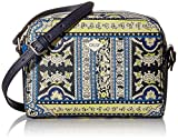 Oilily Damen Orient Shoulderbag Shz 1 Schultertasche, Blau (Blue), 5.5x15x21.5 cm
