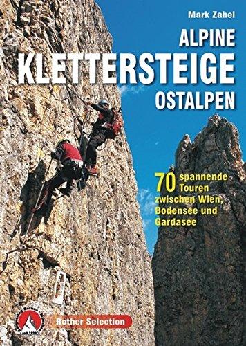 Alpine Klettersteige Ostalpen: 70 spannende Touren zwischen Wien, Bodensee und Gardasee (Rother Selection)